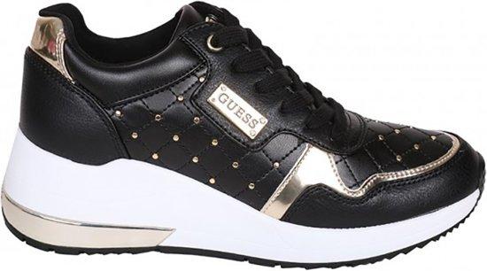 Zwart Guess Guess Janetta Sneakers Sneakers wqUR5WBI