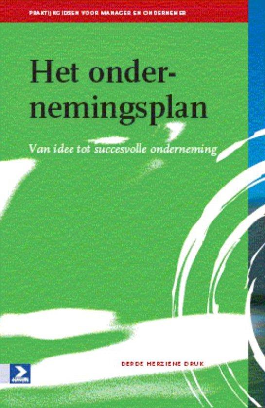 Praktijkgidsen voor manager en ondernemer - Het ondernemingsplan