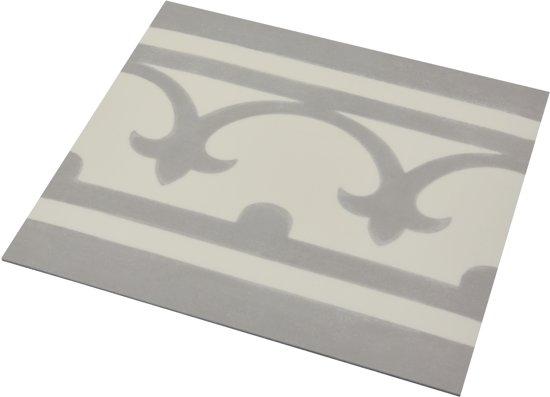 Bol flexxfloors vinyl vloer portugese tegel band grijs