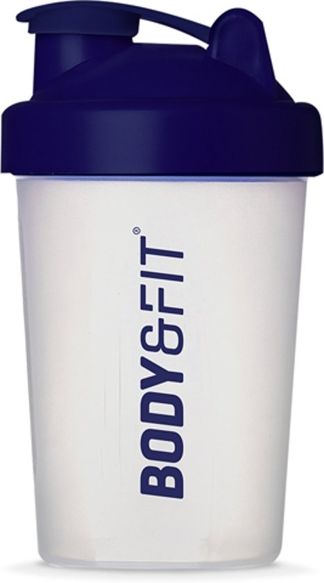 Body & Fit Shakebeker - BPA vrij - Blauw - 500ml