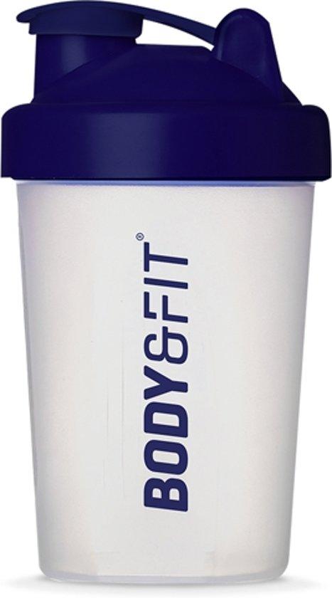 Body & Fit Shakebeker - BPA vrij - Blauw - 500ml