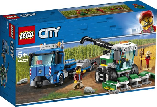 LEGO City Maaidorser Transport - 60223