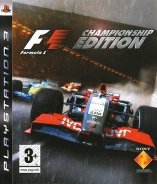 F1 Championship Edition (UK version)