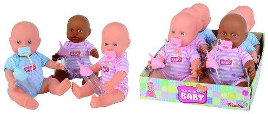 Simba New born baby blauw
