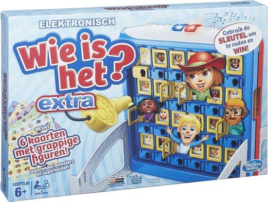 Afbeelding van het spel Wie Is Het? Extra - Kinderspel