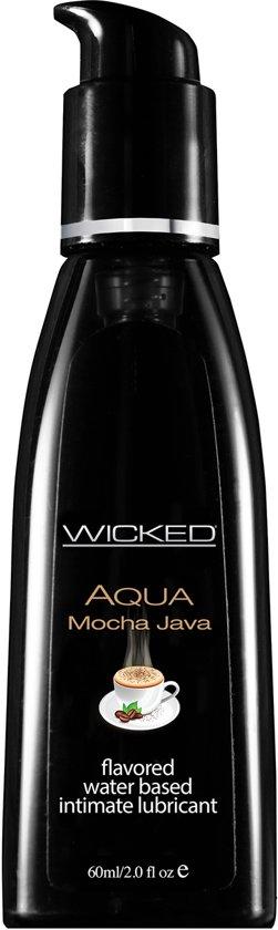 Wicked - Aqua Mocha Java Glijmiddel waterbasis - 60 ml