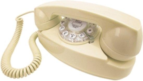 Wild & Wolf Princess Retro Telefoon Creme