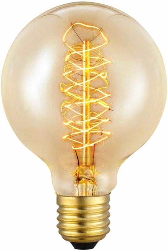EGLO Vintage Edison - Kooldraadlamp - E27 - 60W  - Ø80