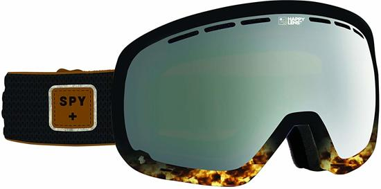 Spy goggles - marshall pepper happy - unisex - gray green silver