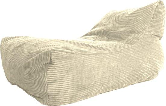 Zitzak Voor Gehandicapten.Lc Lounge Stoel Zitzak Bali Ribcord Creme Zacht En Comfortabel Wasbaar