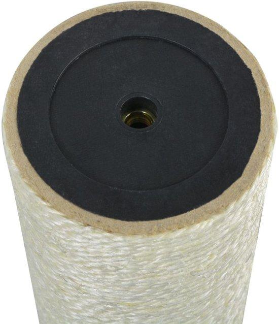 vidaXL Kattenkrabpaal 8x30 cm 8 mm beige