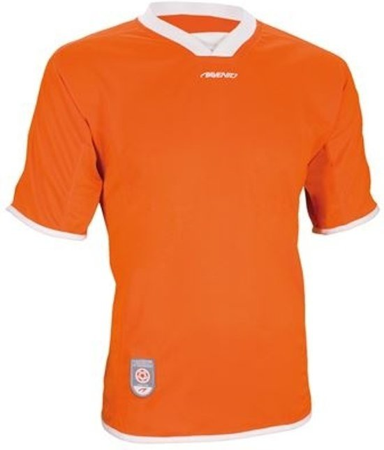 Avento Sportshirt Korte Mouw Senior Oranje Maat L/xl