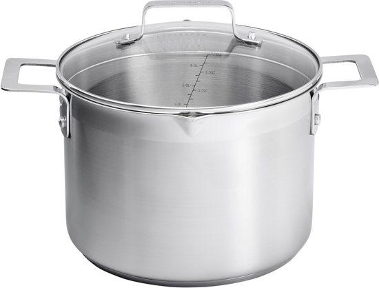 Jamie Oliver - Mid Tier Stock Pot with lid 24cm RVS