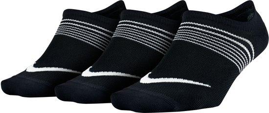 Nike Lightweight No-Show Training  Hardloopsokken - Maat 38 - Vrouwen - zwart Maat M: 38 -42