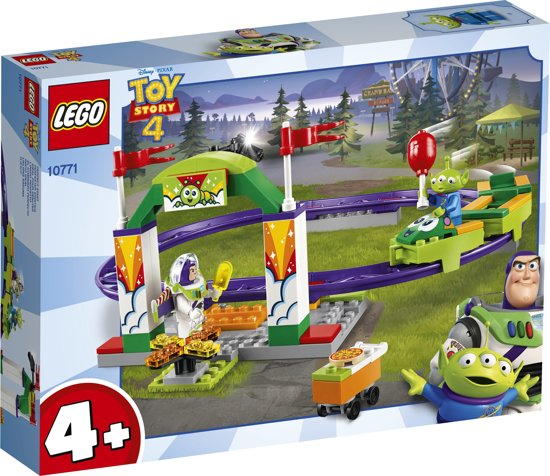 Afbeelding van LEGO 4+ Toy Story 4 Kermis Achtbaan - 10771 speelgoed