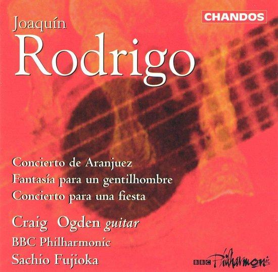 Rodrigo: Concierto de Aranjuez, etc / Ogden, Fujioka, BBC PO