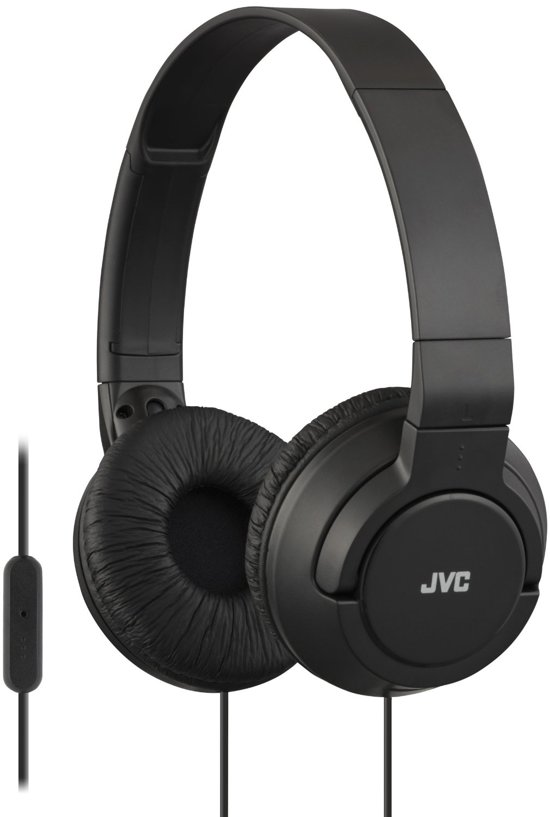 JVC HA-SR185B -  On-ear koptelefoon - Zwart