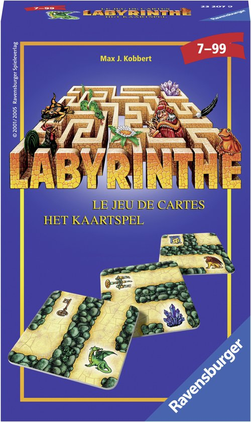 Ravensburger Labyrinthe kaartspel - pocketspel