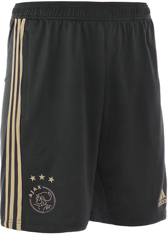adidas Ajax training short uit Heren 2018 2019 zwartbeige maat XS