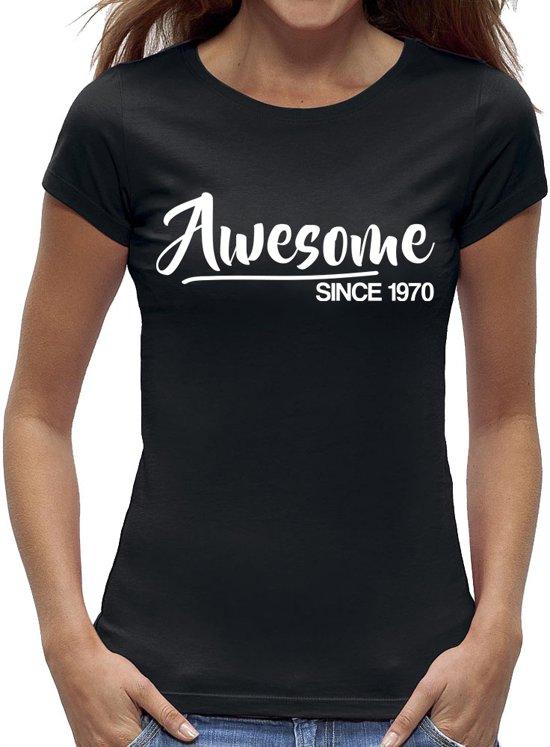 Bedwelming bol.com | Sarah 50 jaar t-shirt / kado tip / dames maat M / cadeau #TJ08