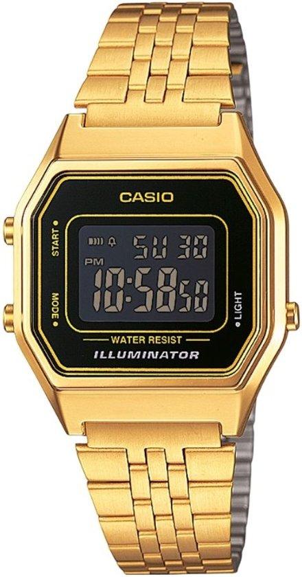casio horloge goud verstellen