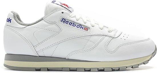 09c8bf1800e bol.com | Reebok Reebok Sneakers Classic Leather R12 Heren Wit Maat 40