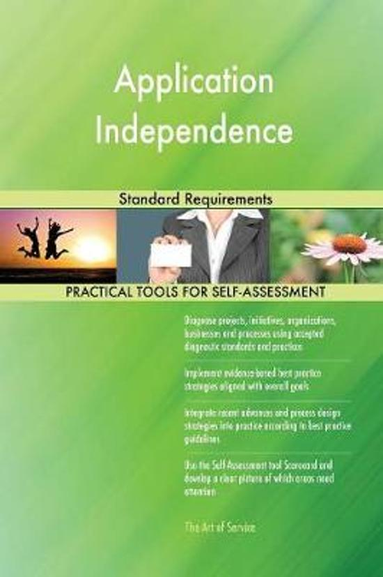 Application Independence Standard Requirements