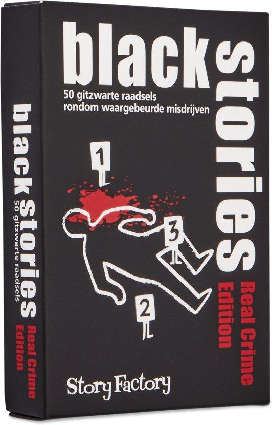 Afbeelding van het spel Black Stories Real Crime