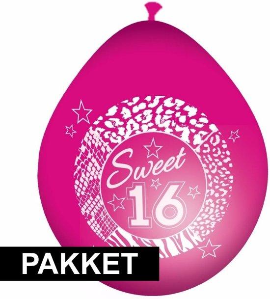 Bol Com Sweet 16 Verjaardag Versiering Pakket Shoppartners