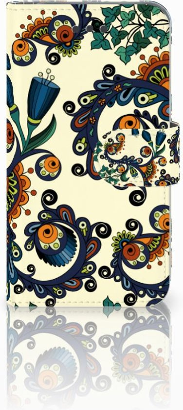 iPhone 6 | 6s Boekhoesje Design Barok Flower
