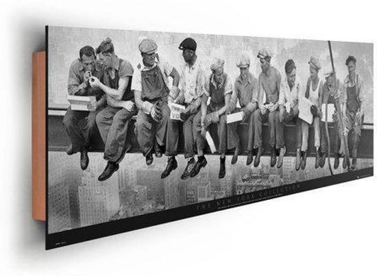 Bol reinders schilderij manhattan steelworkers deco panel