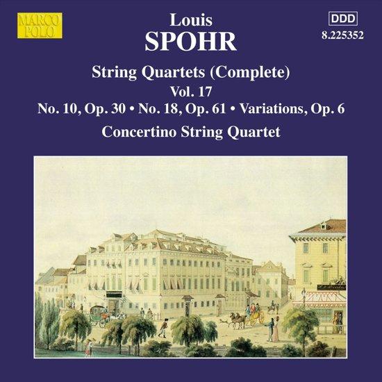 String Quartets Vol 17 (Nos. 10 And 18, Variations