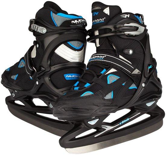 Nijdam 3381 Pro Line IJshockeyschaats - Schaatsen - Mannen - Zwart - Maat 45