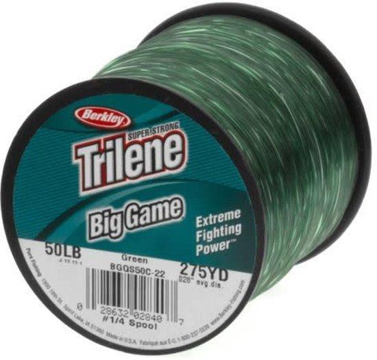 Berkley Trilene Nylon Big Game Green Vislijn Size : 33/00