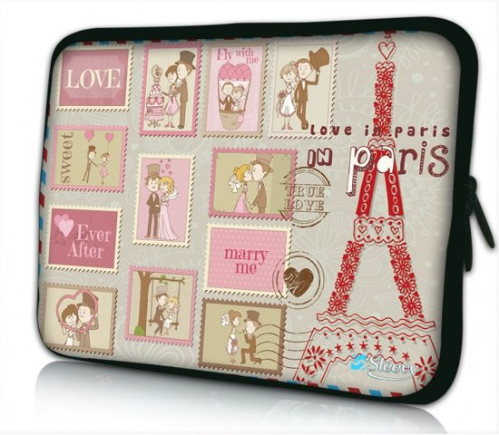 069f9e5ef9b bol.com | Laptophoes 11.6 inch Paris Marry me - Sleevy