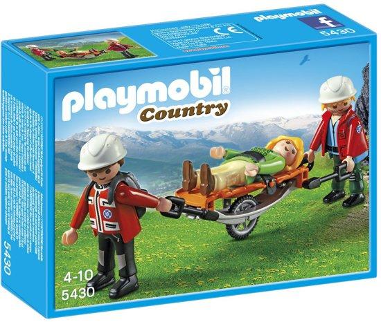 Playmobil Reddingsteam met Brancard - 5430
