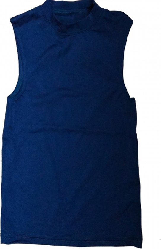 Dreamlight Mens Nylon Gymnastic Compression Shirt - Navy Blue - CS