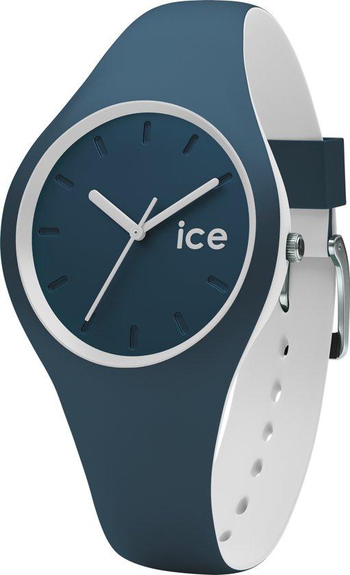 Ice-Watch IW001487 Horloge - Siliconen - Blauw - Ø35,5mm