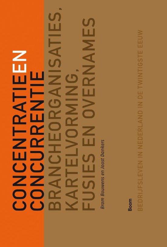 Boek cover Tussen concurrentie en concentratie van Bram Bouwens (Paperback)