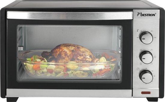 Bestron AGL40 - Mini oven - Vrijstaand - Draaispit