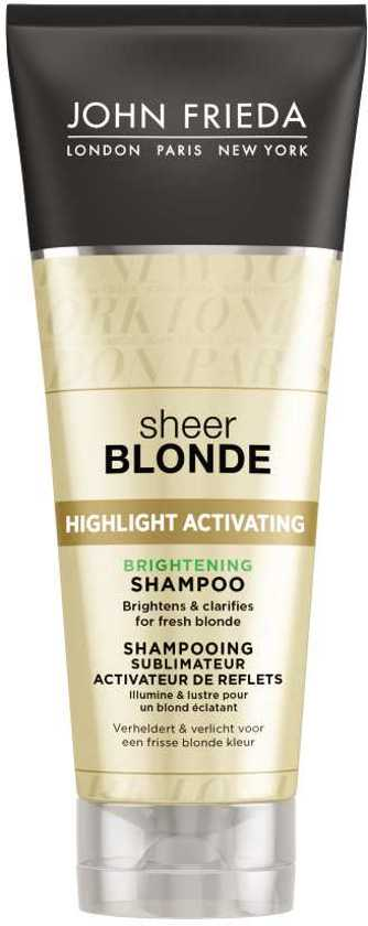 John Frieda Sheer Blonde Highlight Activating - 250 ml - Shampoo