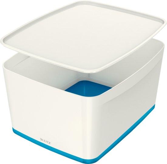 Leitz MyBox opbergdoos met groot deksel blauw