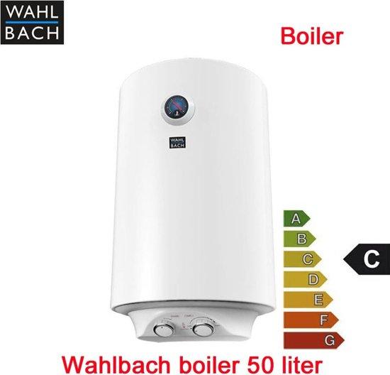 Wahlbach electriche boiler 50 liter, 50 liter boiler 1500 Watt
