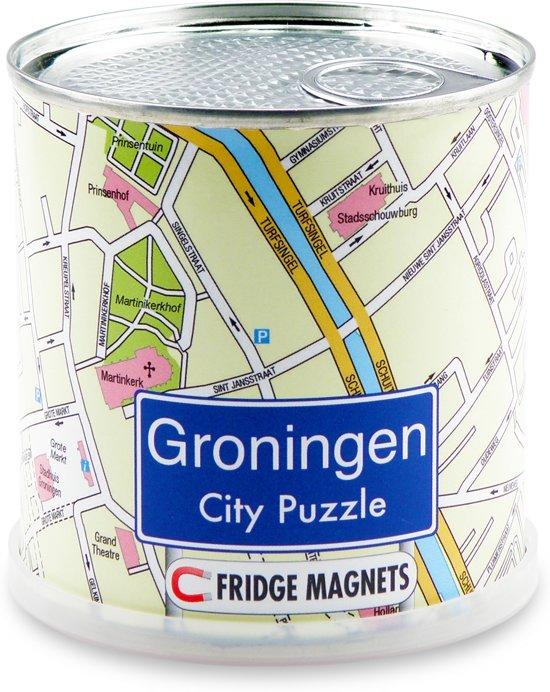City Puzzle Groningen - Puzzel - Magnetisch - 100 puzzelstukjes