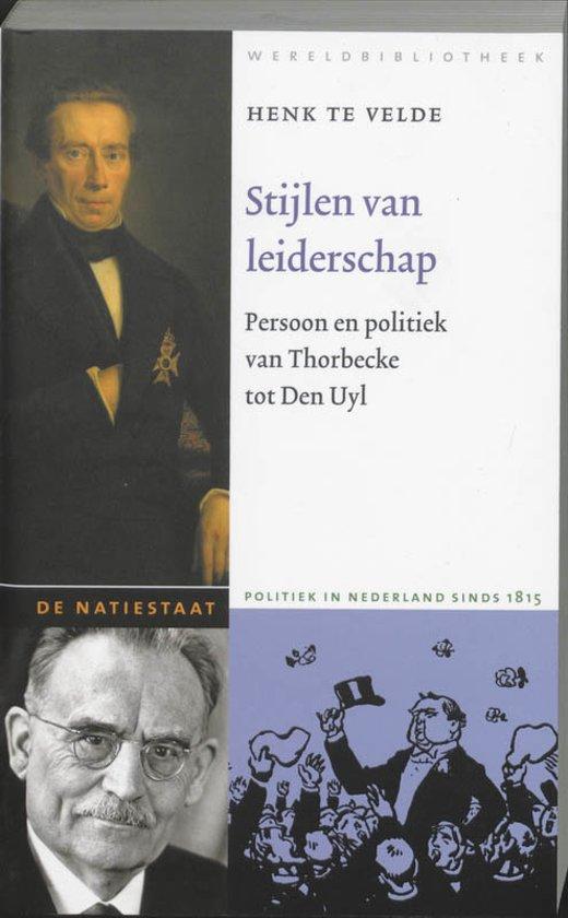 De Natiestaat - Stijlen van leiderschap