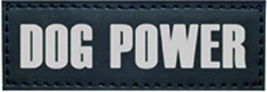 Nobby Seguro Sticker Doggy Power - Hond - 3 x 9 cm - 2 stuks