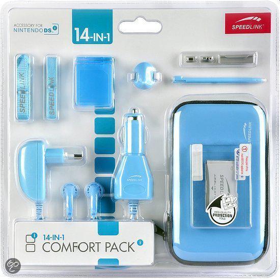 Speedlink 14-in-1 Accessoirepakket Blauw Dsi