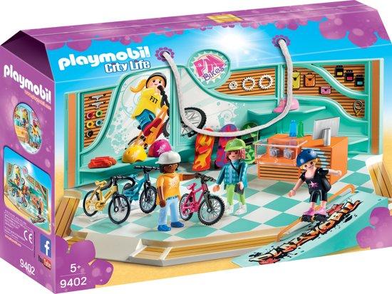 901744a045b bol.com | PLAYMOBIL Fiets- en skatewinkel - 9402, PLAYMOBIL | Speelgoed