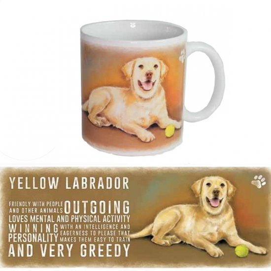 Honden koffie mok Labrador Retriever