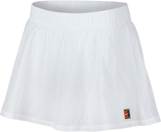 Court Wit Tennisrokje S Nike Vrouwen Dames Dry SportrokMaat FJTK1cl